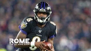 Lamar Jackson Went Legend On The Jets | The Jim Rome Show