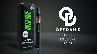 ACES  | INSPIRE DISPOSABLE VAPE PEN REVIEW