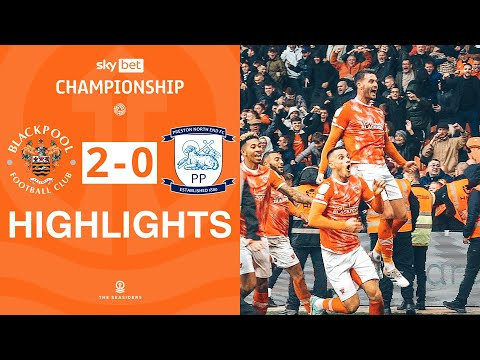Blackpool Preston Goals And Highlights