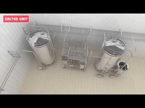 3D Dairy Milk Plant Animation - Dairy Milk Processing Manufacture Movie