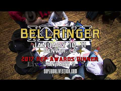 Bellringer XXXI Jan. 10-11, 2018 Superior Livestock Auction