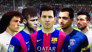 Fifa 15 Demo Faces & Starheads (3 angles view) | Gamescom Thumbnail
