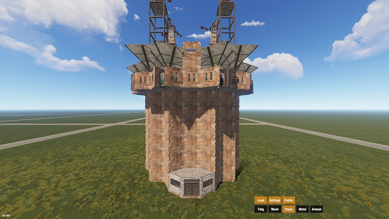 Download Rust ZERG 16 Man Base   Rust Clan Base Build Tutorial