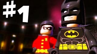 Road To Arkham Knight - Lego Batman 2 Gameplay Walkthrough Part 1 - Man of the Year