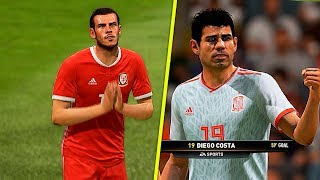 Wales vs Spain - Fifa 19 Predicted match