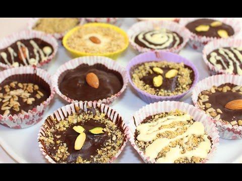 Рецепт Шоколадные пирожные с фундуком