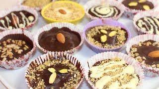 Шоколадные конфеты с начинкой. Как сделать в домашних условиях