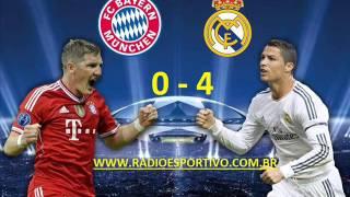 Bayern Munich 0 - 4 Real Madrid - Narración: Antonio Muelas (RNE) - Champions League - 29/04/2014