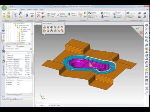 WorkXPlore 3D - 3Dモデルを平面に投影