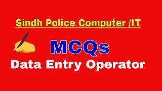 Jobs sindh police 2019