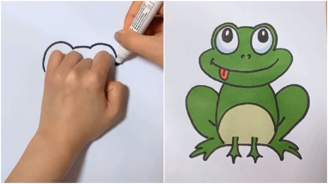 20+ EASY DRAWING IDEAS FOR KIDS WITH YOUR HAND