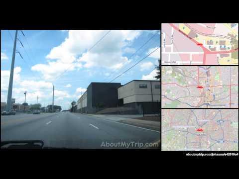 Center Street Northwest (Downtown, Atlanta, GA) to Chappell Rd NW (Grove Park) via Vine City, (...)
