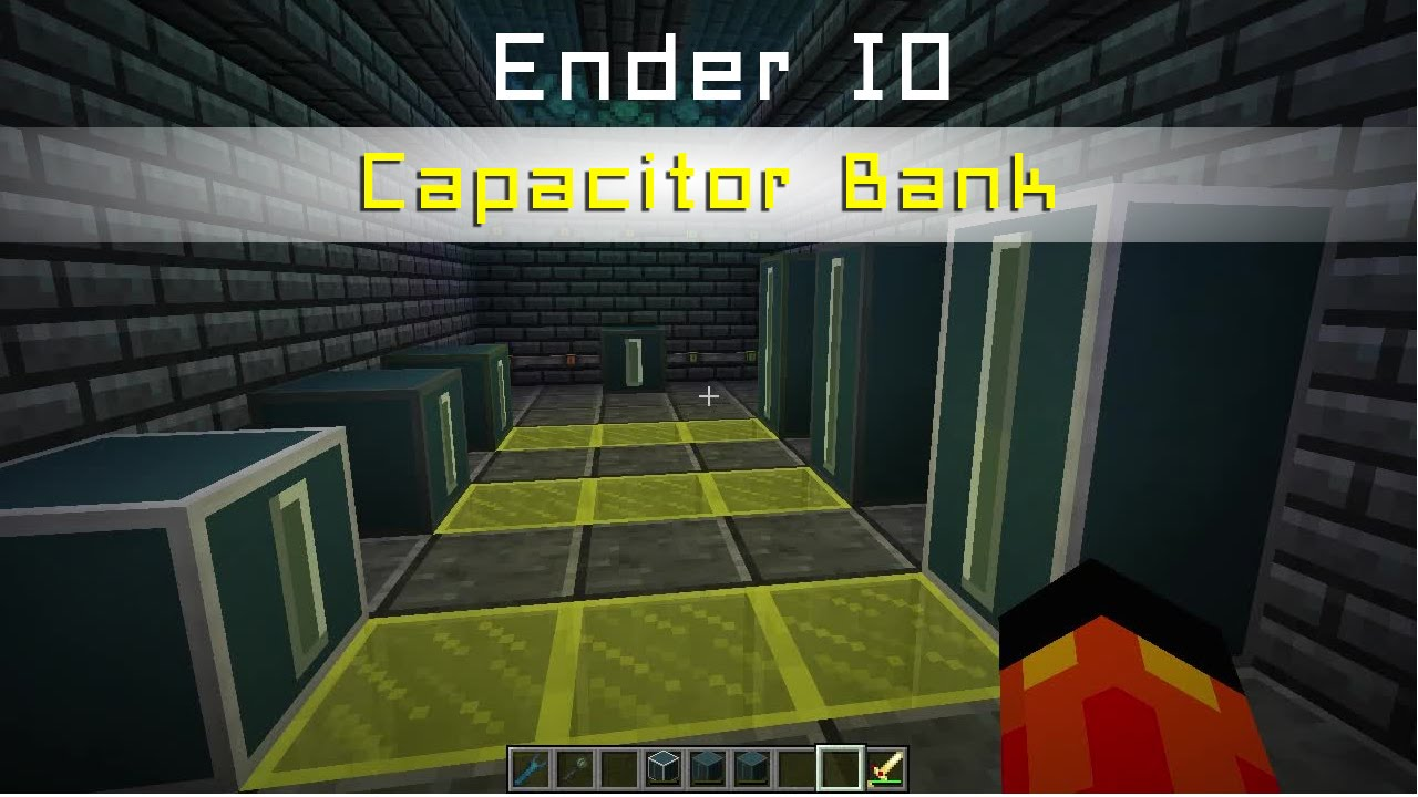 Capacitor Bank d'Ender IO