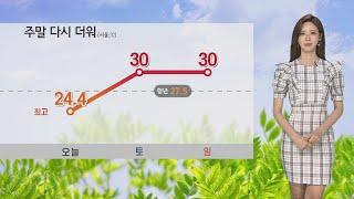 [날씨] 주말 다시 더워…서울 30도·대구 31도 / …