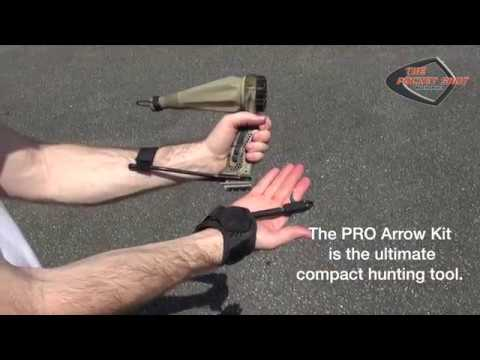 The PRO Arrow POUCH by Pocket Shot