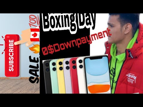 Getting A Phone In Canada For Free |Boxing Day Sale|