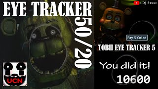 Eye Tracker 50/20 - Ultimate Custom Night with the Tobii Eye Tracker 5