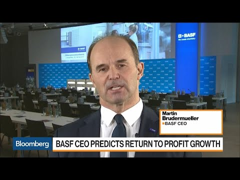 BASF CEO on Return to Profit Growth, Trade, Business Structure
