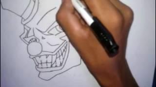 como desenhar palhaco 157