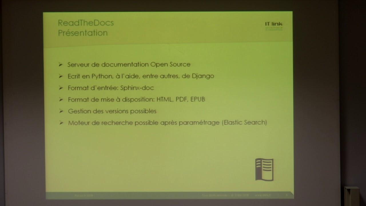 Image from Retour d'expérience sur le déploiement de ReadTheDocs en interne