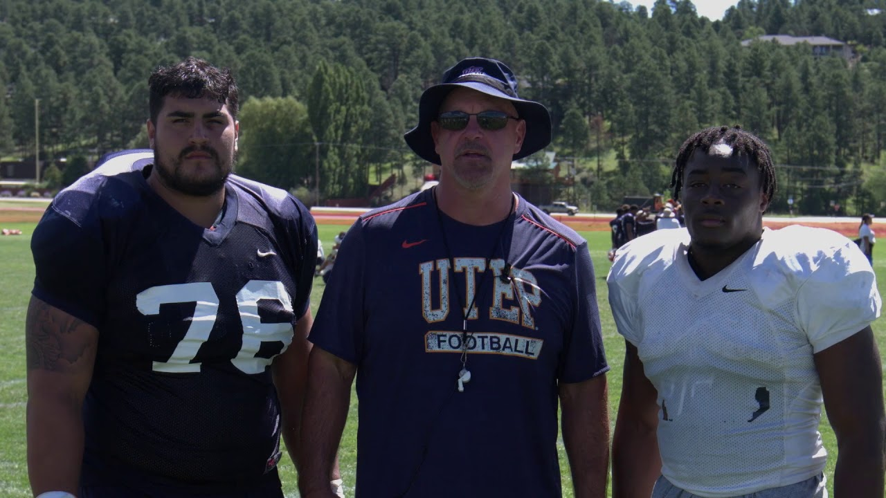 Message from Coach - UTEP Football 2017-08-19 02:40