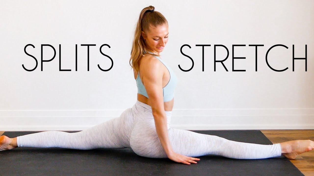Download 15 MIN STRETCH FOR SPLITS (front splits flexibility routine)
