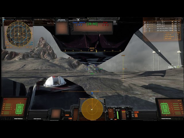 Mechwarrior Living Legends 2020 ThreeV3 Preview Round Map 1 Badlands.