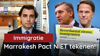 Baudet vs Rutte: Teken Marrakesh immigratiedeal NIET!