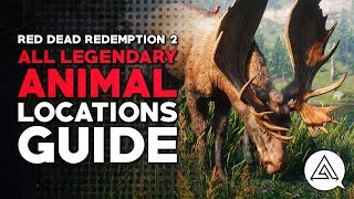 Red Dead Redemption 2 | All Legendary Animal Locations Guide & Hunting Tips