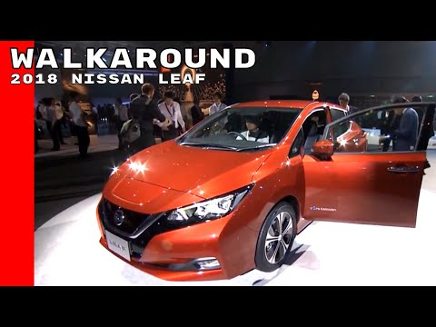 2018 Nissan Leaf Walkaround At The Reveal