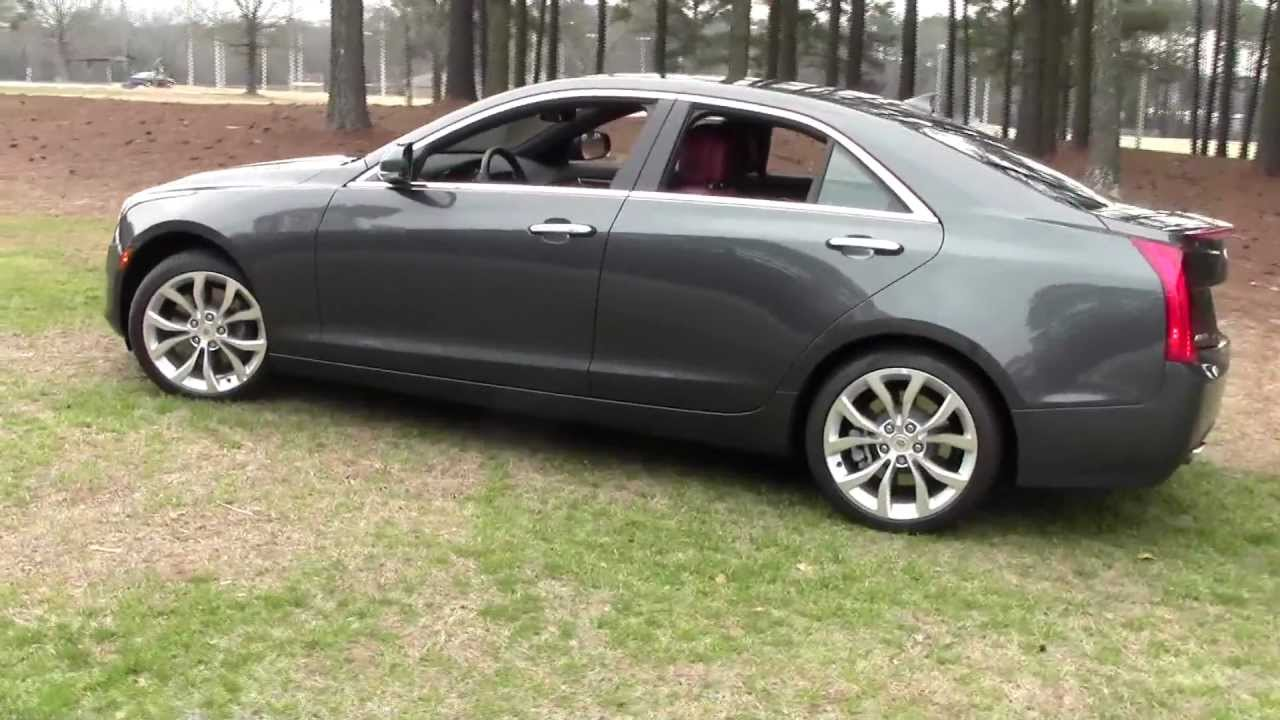 2013 cadillac ats 2 0t performance collection detailed walkaround youtube. Black Bedroom Furniture Sets. Home Design Ideas