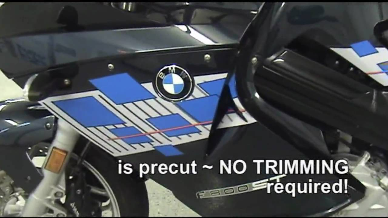 Auto trim design graphic kit 2 for bmw f 800 st motorcycle youtube