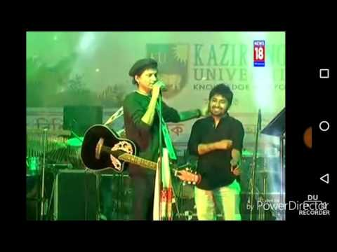 Zubeen Garg nostalgic at Jorhat | A very rare video.
