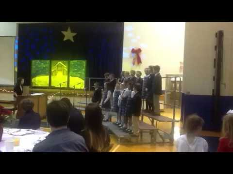 "Washington Episcopal School - Second Grade - performing ""Oh"