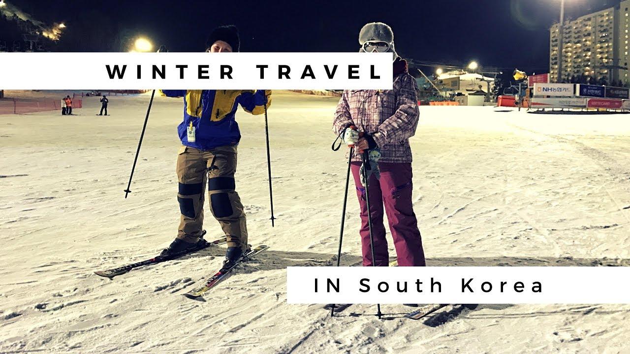 winter travel in korea ski resort youtube. Black Bedroom Furniture Sets. Home Design Ideas
