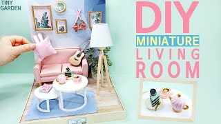 DIY miniature doll house Pink …