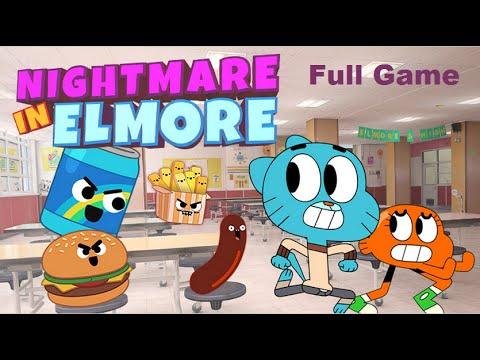 The Amazing World Of Gumball - Nightmare in Elmore [Full Game]