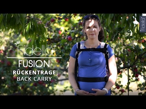 Fidella Fusion | BACK CARRY