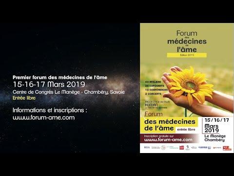 Forum médecines de l'âme Chambéry mars 2019