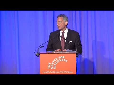 Bill Ritter | The Center for Discovery | 2019 Gala