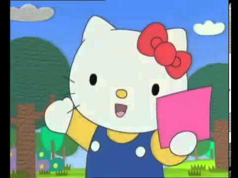 Hello Kitty En Francais Au Pays Du Papier En Couleur Youtube