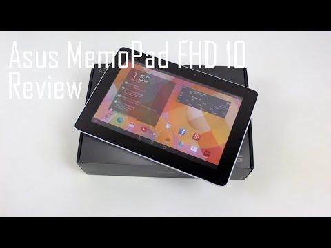 Asus MeMo Pad FHD 10 Review