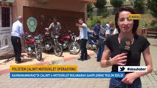Polisten Çalıntı Motosiklet Operasyonu