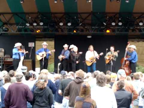 Jim Lauderdale and Ralph Stanley &Clinch Mountain Boys 2009-04-19