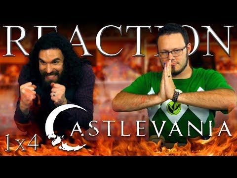 "Castlevania 1x4 REACTION!! ""Monument"""