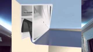 видео Наиболее моющие натяжные потолки