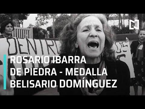 Entrega de la Medalla Belisario Dominguez, para Rosario Ibarra