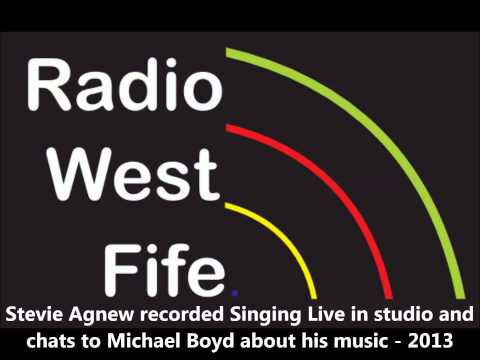 Stevie Agnew Recorded Singing live and chats to Michael Boyd about his music 2013