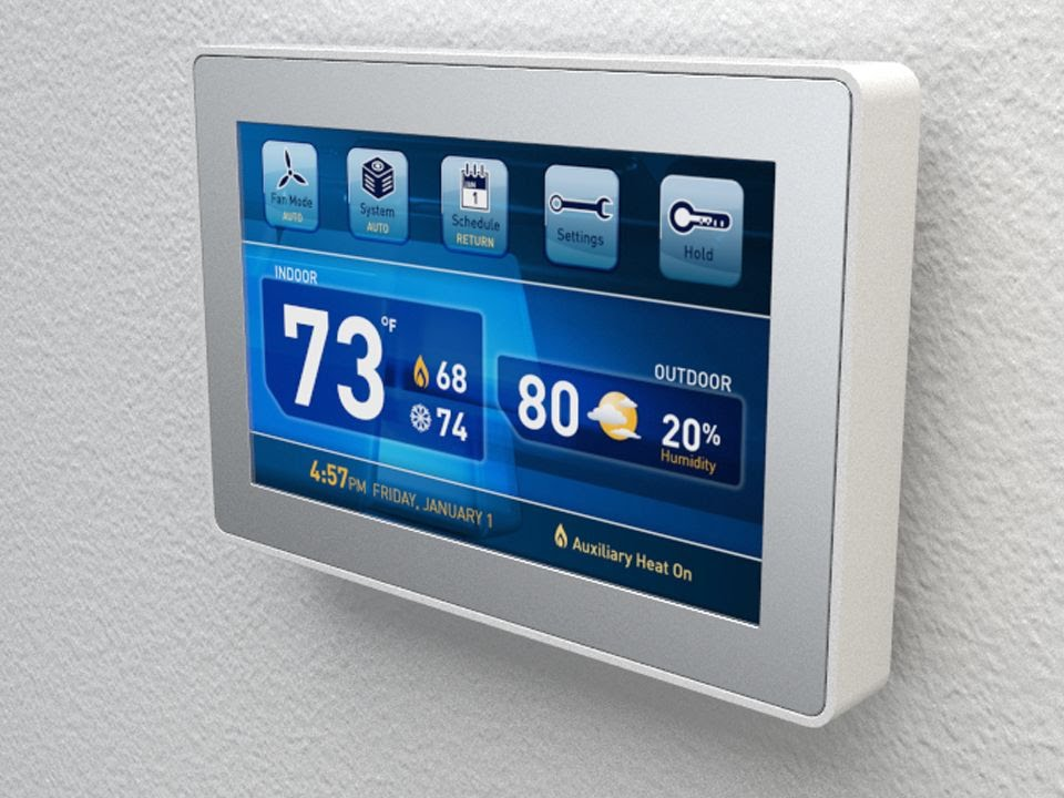 Image result for home thermostat