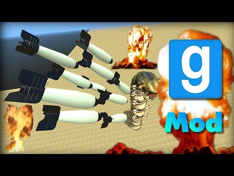 Garry's Mod: CRAZY NUCLEAR BOMBS (Gbombs 5) | Mod Will It Survive?